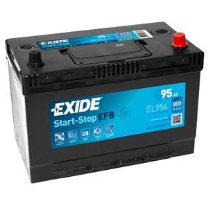 Exide 249 EFB Car Battery 95Ah EL954