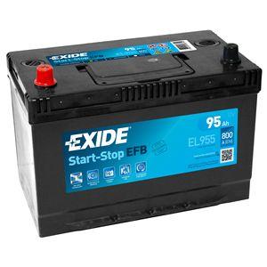 Exide 250 EFB Car Battery 95Ah EL955