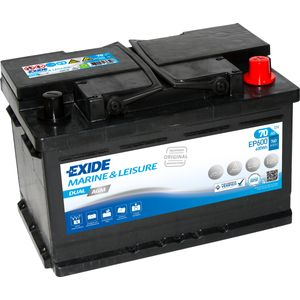 Exide EP600 DUAL AGM Leisure Marine Battery