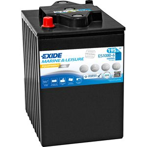 ES1000-6 Exide Equipment Marine and Multifit Gel Leisure Battery 195Ah