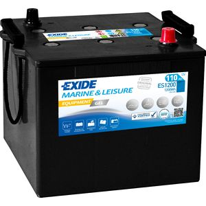 ES1200 Exide G110 Marine Gel Leisure Battery 110Ah