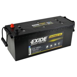 ES1350 Exide G120 Exide Marine and Multifit Gel Leisure Battery 120Ah