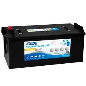 ES2400 Exide G210 Marine and Multifit Gel Leisure Battery 210Ah
