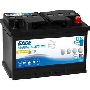 ES650 Exide G60 Marine Gel Leisure Battery 56Ah