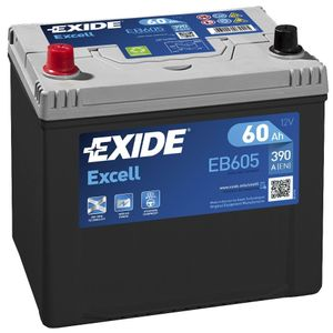 EB605 Exide Excell Car Battery 002SE