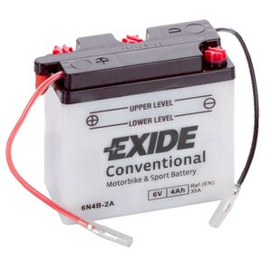 Exide 6N4B-2A 6V Conventional Motorcycle Battery