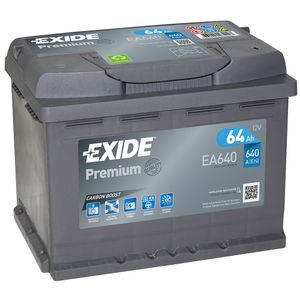 EA640 Exide Premium Car Battery 027TE