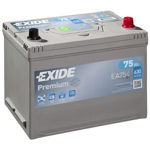 EA754 Exide Premium Car Battery 030TE