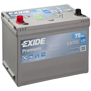 EA755 Exide Premium Car Battery 031TE