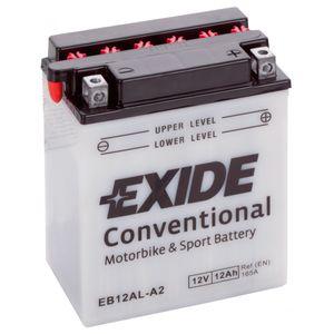 Exide EB12AL-A2 12V Conventional Batterie De Moto