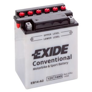 Exide EB14-A2 12V Conventional Motorcycle Battery