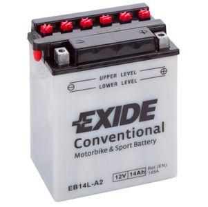 Exide YB14L-A2 12V Batterie De Moto EB14L-A2