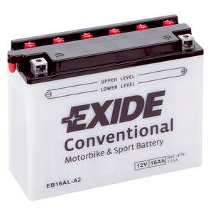 Exide EB16AL-A2 12V Conventional Batterie De Moto