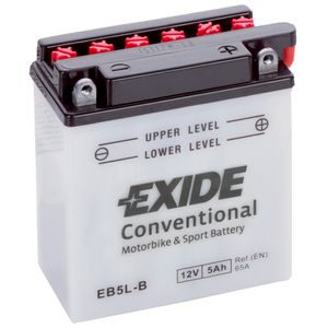 Exide EB5L-B 12V Conventional Motorcycle Battery