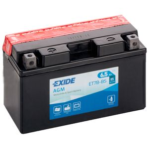 Exide ET7B-BS 12V Batterie De Moto YT7B-BS