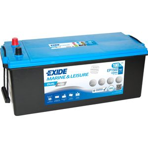 Exide EP1500 DUAL AGM Leisure Marine Battery