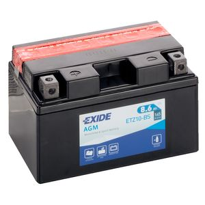 YTZ10-BS Exide Quad Bike ATV Battery