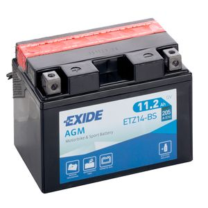Exide ETZ14-BS 12V Motorcycle Battery YTZ14-BS