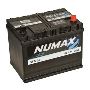 75D26L Numax Car Battery 12V