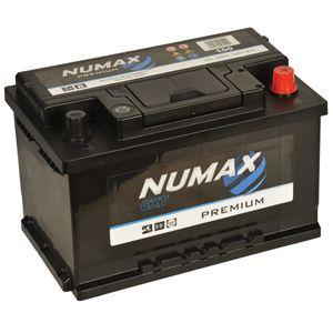 100 Numax Car Battery 12V 68Ah