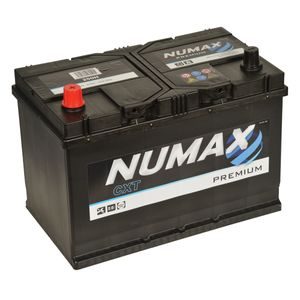 95D31R Numax Car Battery 12V