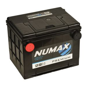 75-60 Numax Side Terminal Car Battery (75-550) 12V 60AH