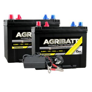 AgriBatt Fit 1 Charge 1 Electric Fence Battery Kit ELB80