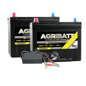 AgriBatt Fit 1 Charge 1 Electric Fence Battery Kit ELB60