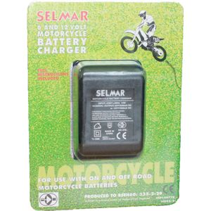 Selmar Motorcycle Battery Charger 6/12V 500mA