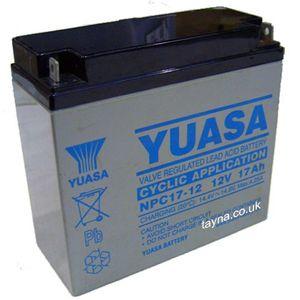 Yuasa NPC17-12