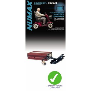 Numax Mobility Battery Charger 24V 2A