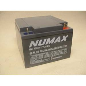 Numax SLC26-12 Sealed Lead Acid Battery 12V 26Ah