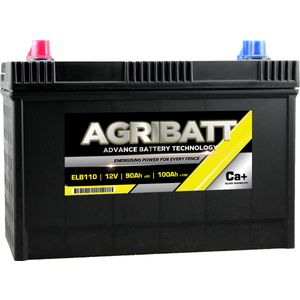 AgriBatt ELB110 Heavy Duty Electric Fence Battery 12V 100Ah c100