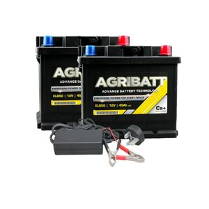 AgriBatt Fit 1 Charge 1 Electric Fence Battery Kit ELB50