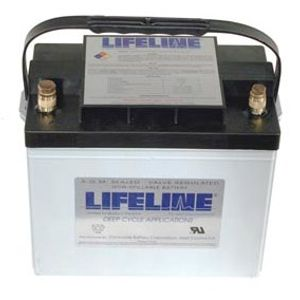 GPL-24T Lifeline AGM Battery