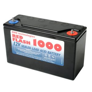 Red Flash 1000 Battery