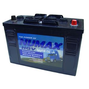 663 Numax Commercial Battery 12V 110AH