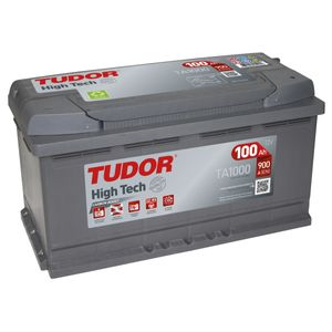 TA1000 Exide Tudor Car Battery High Tech Carbon Boost 12V 100Ah