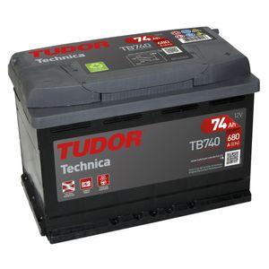 TB740 Exide Tudor Car Battery High Tech Carbon Boost 12V 74Ah