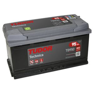 TB950 Exide Tudor Car Battery High Tech Carbon Boost 12V 95Ah