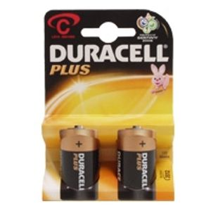 Duracell C (Two Pack)