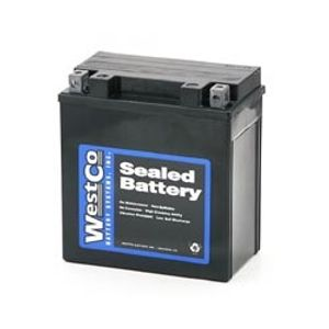 12V14R-B Westco Motorcycle Battery 12V 14Ah - Replaces YTX14L-BS