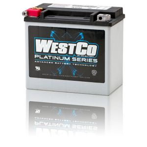 WCP20 Westco Platinum Motorcycle Battery 12V 18Ah YB16-B (SVR20)