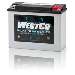 WCP18 Westco Platinum Motorcycle Battery 12V 22Ah Y50-N18L-A2 (SVR18)