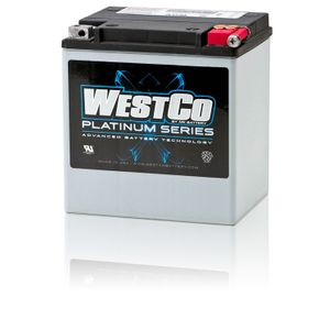 WCP30 Westco Platinum Motorcycle Battery 12V 26Ah - Replaces YIX30L-BS