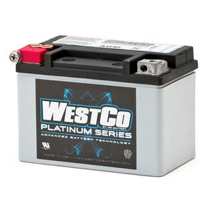 WCP9 Westco Platinum Motorcycle Battery 12V 8Ah YTX9-BS
