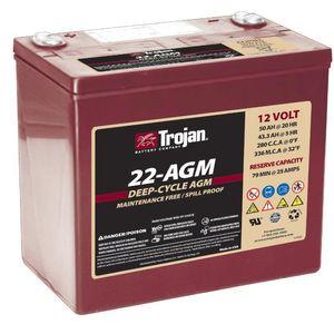 Trojan 22 AGM Deep Cycle Battery