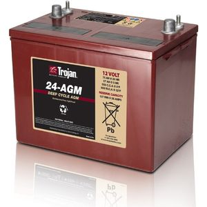 24-AGM Trojan Deep-Cycle AGM Battery