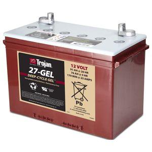 27-GEL Trojan Battery