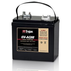 6V-AGM Trojan Battery Deep Cycle 6V 200Ah